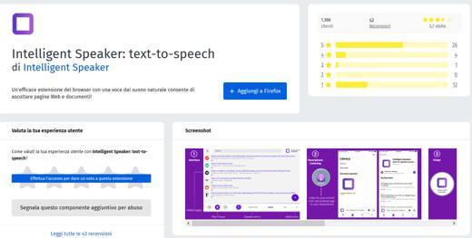 Come far leggere una pagina Web a Firefox