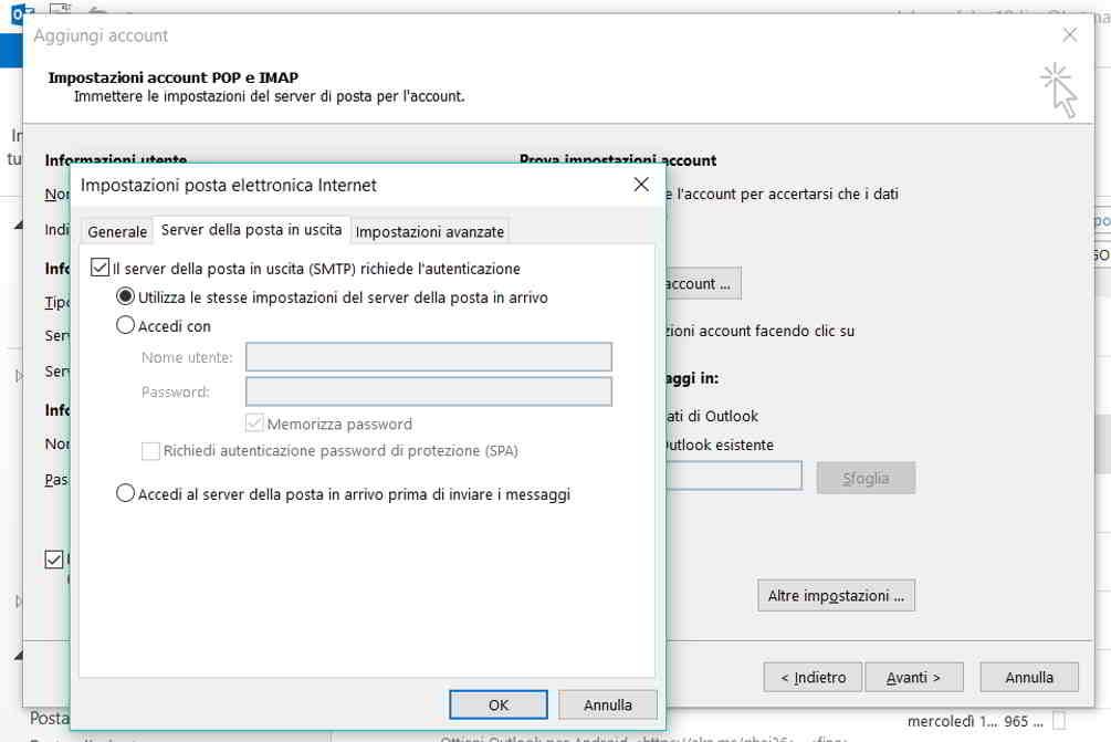 aruba web mail client