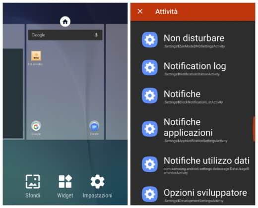 Come visualizzare messaggi whatsapp con Nova Launcher