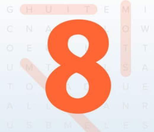 soluzioni 8 parole intrecciate 520x445 - Le soluzioni di tutti i livelli di 8 Parole Intrecciate