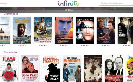 Infinity Serie TV