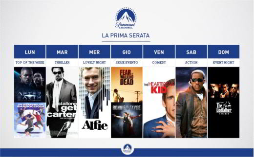 Paramount Channel Serie TV