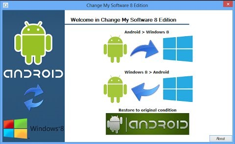 come installare windows su android
