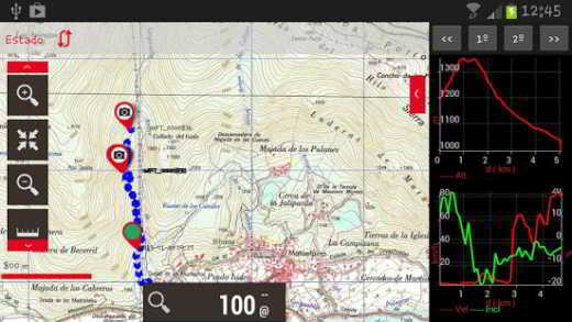 app trekking android gratis