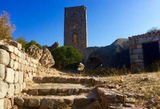 castello di Pedres a Olbia