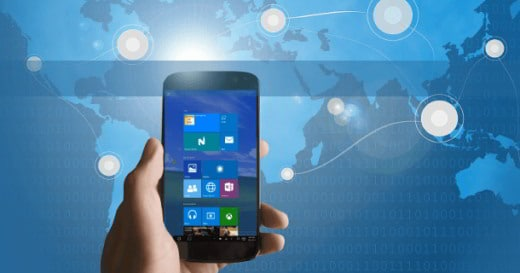 come installare windows 10 su Android