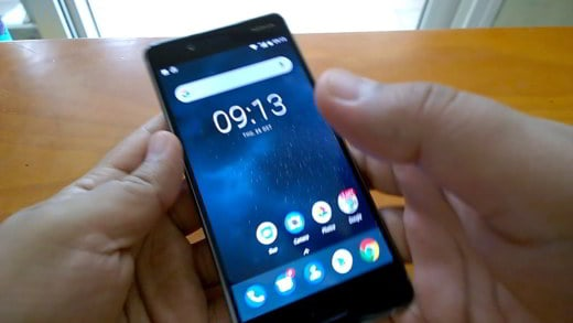 Come fare screenshot Nokia 8