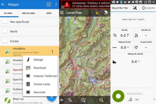 app per tracciare percorsi a piedi