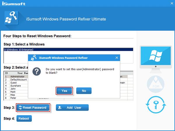 Bypassare schermata blocco Windows 10