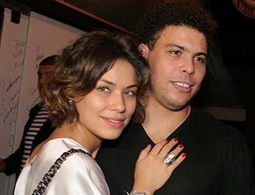 Ronaldo e Bia Anthony