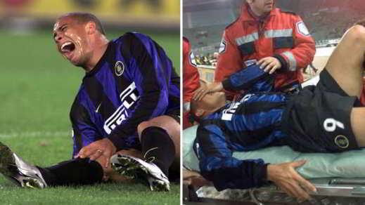 Ronaldo Inter infortunio