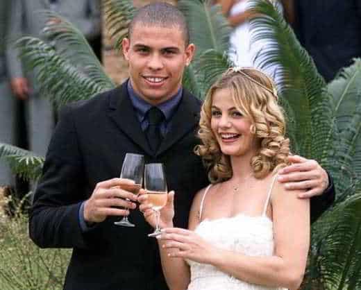 Ronaldo e Milene Domingues