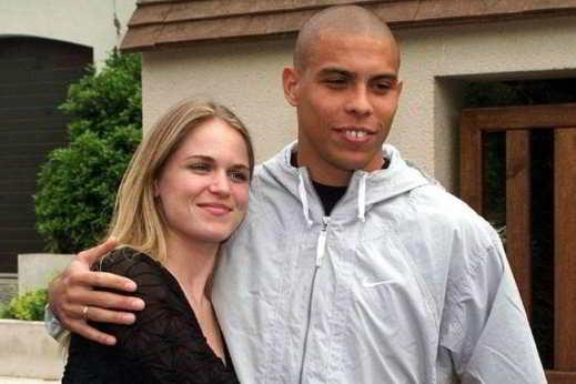 Ronaldo e Susana Werner