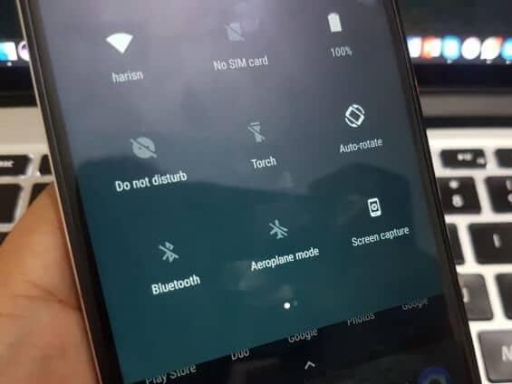Catturare una schermata con Nokia