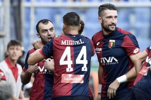 Pagelle Genoa 2017/18