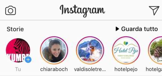 come fare scritta arcobaleno instagram