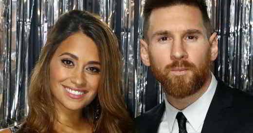 Antonella Roccuzzo e Messi