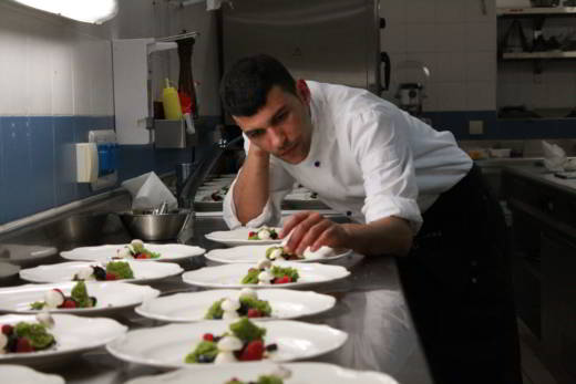 Mohamed Lamnaour hell's kitchen