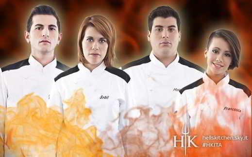 Hell's Kitchen Italia 1 prima stagione