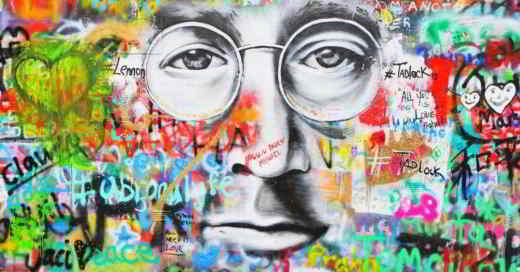 john lennon wall - Dove si trova il Muro di John Lennon a Praga (John Lennon Wall)