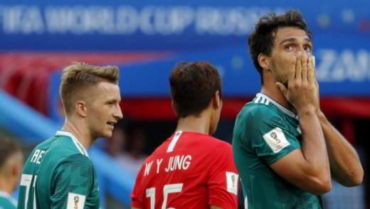 mondiali 2018 germania fuori - Mondiali Russia 2018: i primi verdetti