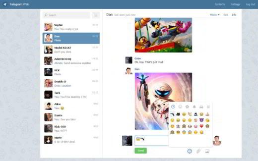 Come funziona Telegram Web