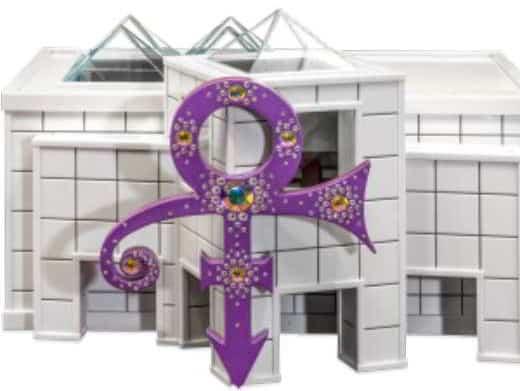 L'urna con le ceneri di Prince