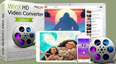 WinX HD Video Converter Deluxe giveaway con licenza gratuita