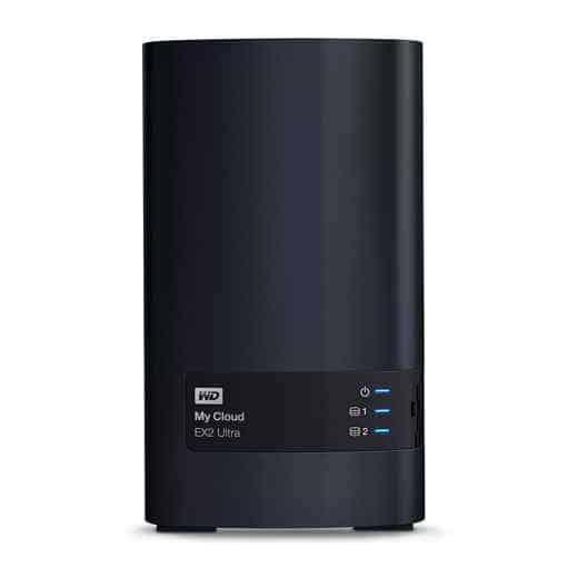 8 WD WDBVBZ0080JCH EESN My Cloud EX2 - I migliori NAS 2019 per casa e ufficio: Guida all'acquisto