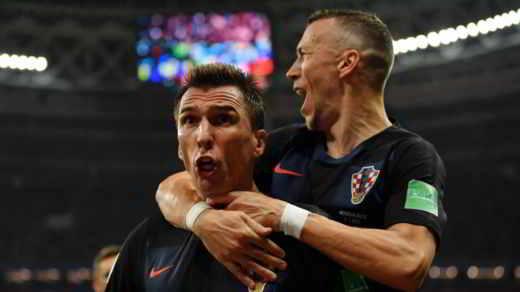 Croazia finalista Russia 2018