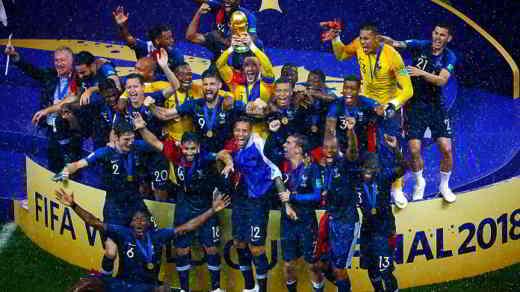Francia vince coppa del mondo Russia 2018