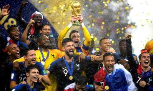 francia vince mondiale russia 2018 - Mondiali Russia 2018: Francia Campione del Mondo