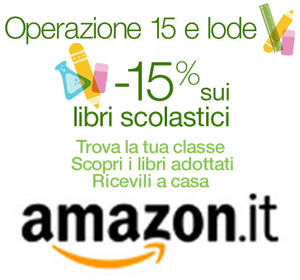 Libri scolastici Amazon scontati