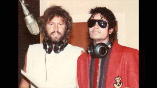 Barry Gibb e Michael Jackson