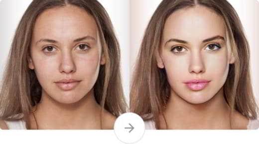 face app - Come correggere difetti viso nelle foto