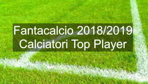 Top Player Fantacalcio 2018