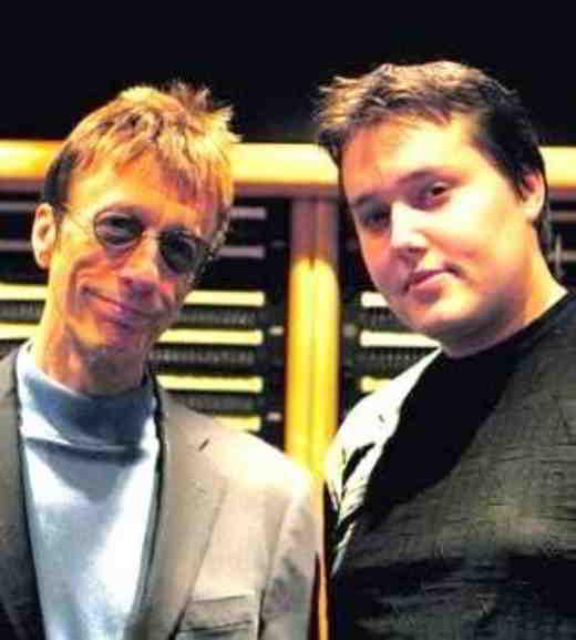 Robin Gibb e Robin-John Gibb