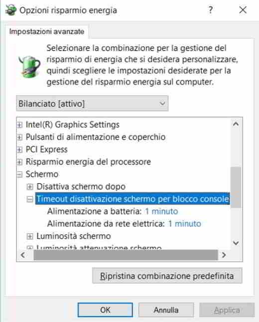 screensaver con password