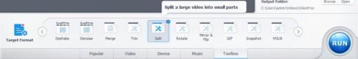 Dividere un video in più parti di piccole dimensioni