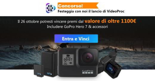 Vinci una GOPro Hero 7