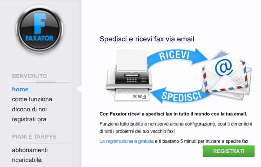 ricezione fax gratis