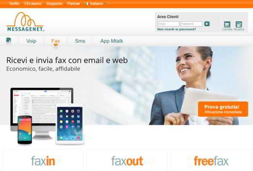 messagenet fax