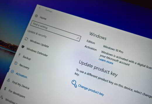 Come trovare il codice Product Key di Windows 10