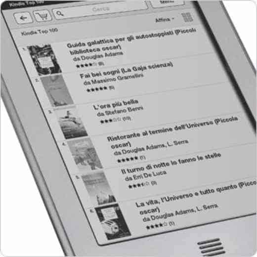 come acquistare su Kindle