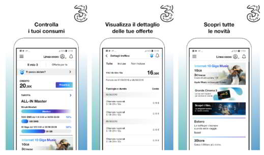app ufficiale 3 italia