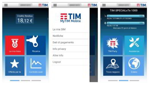 app ufficiale TIM