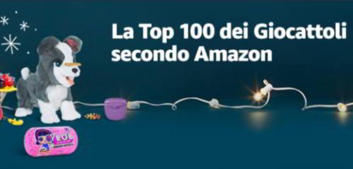 top 100 giocattoli amazon - Offerte giochi e giocattoli Amazon: la Top 100