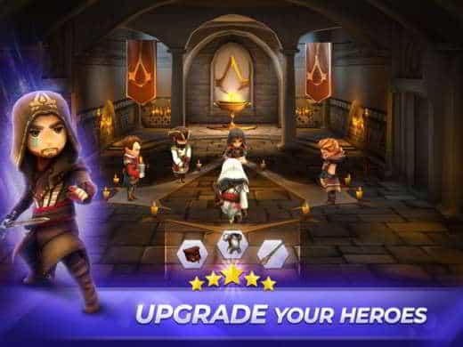 upgrade personaggi - Trucchi per giocare a Assassin's Creed Rebellion - soldi infiniti e sblocco personaggi nuovi