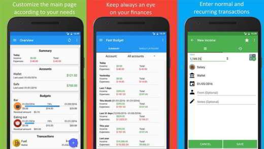bilancio familiare app