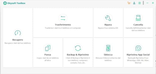 iskysoft toolkit - Come trasferire WhatsApp da iPhone ad Android